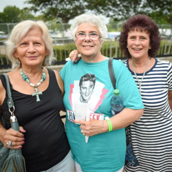 Fans traveled from around the world to pay tribute to the king.