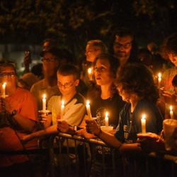 The annual Candlelight Vigil is a special time for Elvis fans to honor the king.