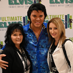 Semifinalist Al Joslin has been performing as Elvis for more than a decade.