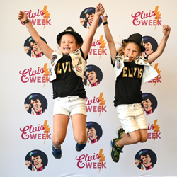 These young fans love Elvis Week!