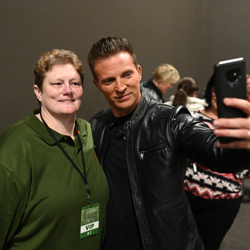 Can Steve Burton take a bad selfie? We think not.