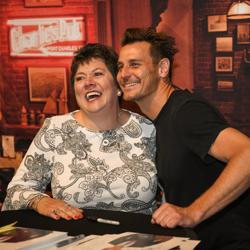 Ingo Rademacher made her day!