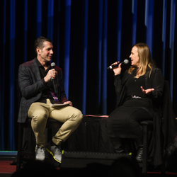 Producer Frank Valentini and Genie Francis shared their thoughts on the show at a panel.