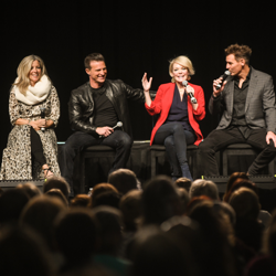 Maura West shared insights during a panel.