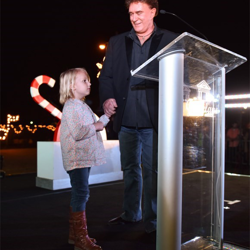T.G. Sheppard and Alexis flipped the switch on Graceland