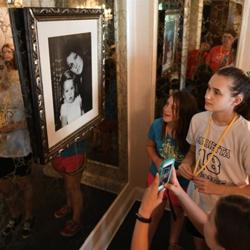 Campers toured Graceland before beginning their workshops.