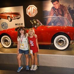 Campers toured Presley Motors at Graceland.