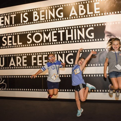 In addition to learning about singing, acting and dancing, the campers also learned about Elvis.