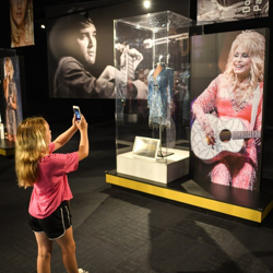 Campers found inspiration everywhere at Graceland - including the Icons exhibit.