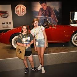 The kids toured Elvis Presley