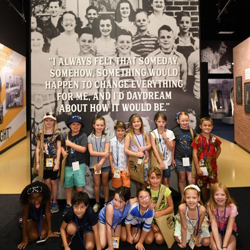 Campers took a tour of Elvis Presley