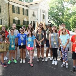 Campers toured Graceland before workshops began.