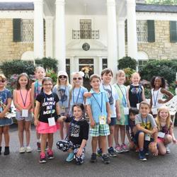 Campers toured Graceland!