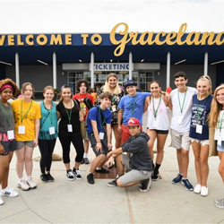 The green group has a blast touring Elvis Presley