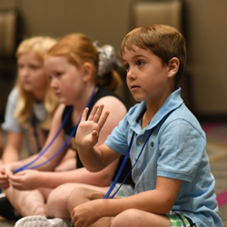 Campers learned about dancing, music and acting.