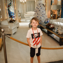 John had a great time touring the mansion!