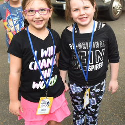 Caison and Ophelia became best friends during camp.