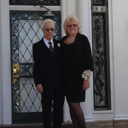 Clifford and Regina Pye of Blue Ridge, Georgia, renewed their vows at the chapel at Graceland on March 24, 2015.