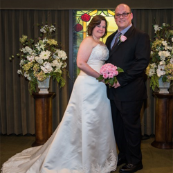 Christy Swindler & Tony Rinaldi from Matthews, North Carolina, were married at Graceland