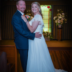 Jessica Steele and JR Price of Loveland, Colorado, were married at Graceland