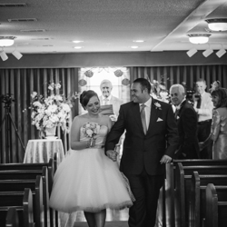Rachel Gardener and Michael Geach from Tyne & Wear, UK were married at Graceland's Chapel in the Woods on May 19, 2016.