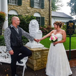 Rob and Lorri Allock of Canada were married at Graceland's Chapel in the Woods on August 14, 2017.