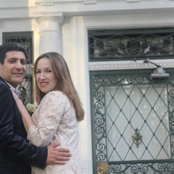 Daniela Soto Cuadra and Alberto Ricci of Chile were married at Graceland