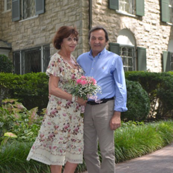 Guido De Haeck and Greta Segers Belgium were married at Graceland's Chapel in the Woods on Wednesday, August 15, 2018.
