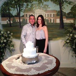 James and Susan Hoey from Milton, Massachusetts, were married at the Chapel at Graceland on April 2, 2015.