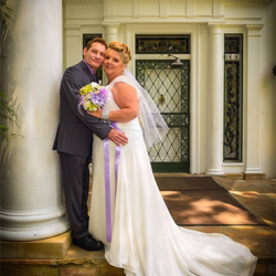Mary VanLannen and Rick Ascher from Little Suamico, Wisconsin were married at Graceland's Chapel on June 4, 2015.