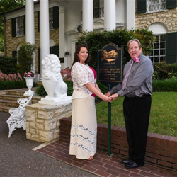 Mr. and Mrs. Jeff Besing, from Palestine, Illinois, were married on May 15, 2015 at Graceland