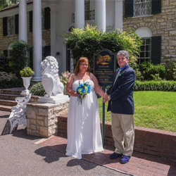 Vicky Whited and Michael Johnson from Gallatin, Tennessee, were married at the Chapel on August 8, 2015