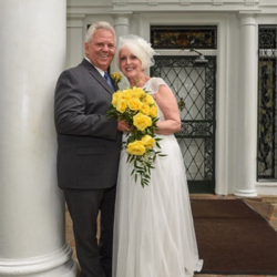 Marlene & Sam Ford Nesbit, Mississippi, married at the Chapel in the Woods on August 22, 2015.