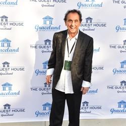 George Klein walked the blue carpet.