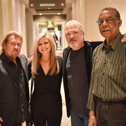 Jerry and Halley Phillips, Tom Brown and Sam Bell all took part in a Conversations on Elvis event at The Guest House.