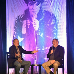 Dick Grob talked about what it was like to take care of security for Elvis at Conversations on Elvis.