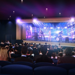 Theater for The Guest House at Graceland - opening 2015.