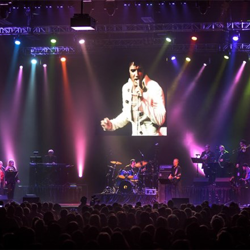 Elvis Live in Concert featured some of Elvis