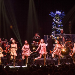 The Christmas with Elvis concert featured performances by the New Ballet Ensemble.