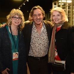 Guests had the chance to mix and mingle with musicians and conductor Robin Smith at the VIP reception.