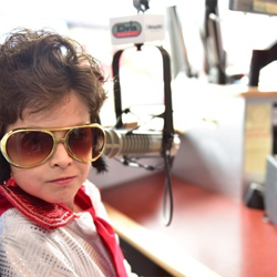 Students toured the Sirius XM Elvis Radio studio at Graceland.