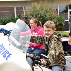 Students got an up-close-and-personal look at Memphis Police Department