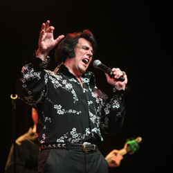 Shawn Klush will perform several times during Elvis Week.