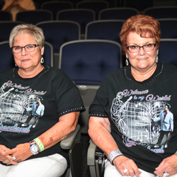 These ladies scored front-row seats for Shawn