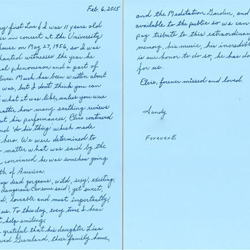 Sandy from Ohio wrote this letter.