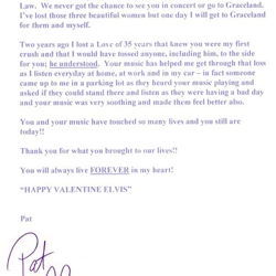 Patricia from Ohio wrote this letter.