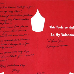 Mary, an Elvis fan from Pennsylvania, wrote this letter.