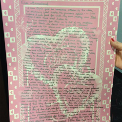This is the largest letter sent to Elvis so far! It