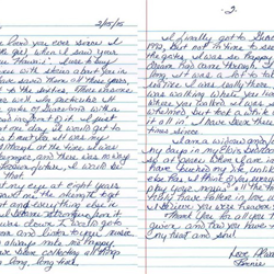 This letter is from Bonnie, an Elvis fan from New York.