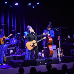 "Marty Stuart celebrated the opening of his new exhibit, ""Hillbilly Rock,"" at Graceland before performing that evening."